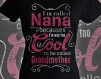 Nana for Grandma