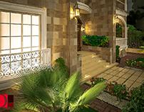 Landscape 1 interior design by Osama Eltamimy