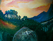 "2018 Rain Barrel - theme: ""Enchanted Forest"""