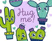 Group Hug Me! Ilustración infantil