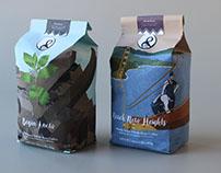 Coffee bean bag packaging