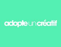 Adopte un créatif - web design - campaign - identity