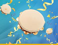 Carnaval Pandeiro - Free Download