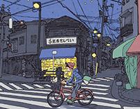 100 Views of Tokyo(16〜20)
