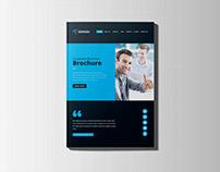 Website Style Brochure Design
