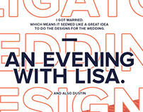 An evening with Lisa | Obligatory wedding designs