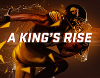 NFL NETWORK: A KING'S RISE. DESMOND KING