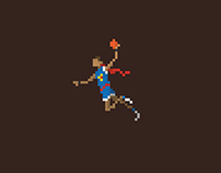 Pixel Art _NBA Dunkers