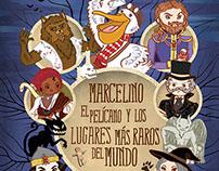 Marcelino el pelícano y los lugares más raros del mundo