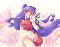 Shampoo (from Ranma 1/2)
