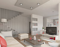Interior design. Duplex.