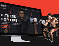 TITAN GYM Website
