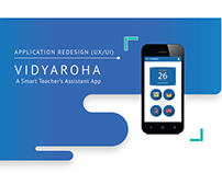 Vidyaroha - App Redesign (UX/UI)