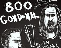 800 Gondomar // Poster Porta 253