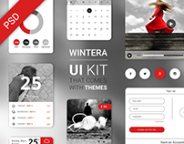 Free UI Starter Kit – 3 themes