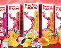 Rooh Afza Fusion Branding and packaging