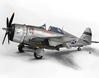P-47 Thunderbolt Fighter