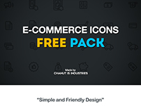 FREE! E-Commerce Icons pack by Chanut-is-Industries