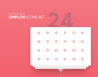 simplon - free icons set