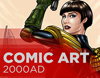 Comic Art, 2000AD
