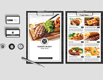 Freebies| Restaurant Menu & Business Card PSD