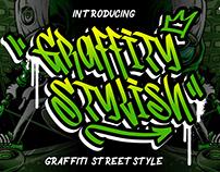 GRAFFITY STYLISH GRAFFITI STREET STYLE - FREE FONT