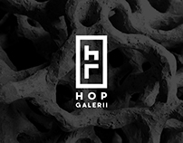 Brand Identity for 'Hop Galerii'