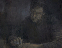 The Storm (portrait of my father)