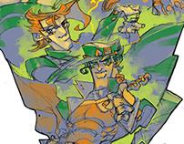 Fanarts of JOJO's Bizarre Adventure Chapter3