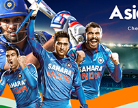 Asia Cup Promotional Flyer