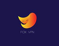 FOX VPN iOS app design (personal project)
