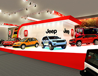 Fiat-Jeep fair stand for expo Motor Show