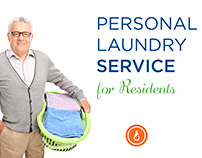 Personal Laundry Service Trifold