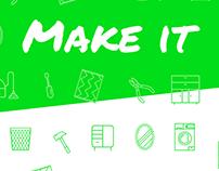 MAKE IT - Application / Eco-citoyens créatifs