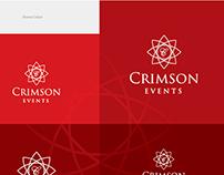 Crimson Events-Identity Design