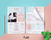 Anthology Resume | CV - 4 Page (support multi-format)