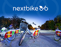 Nextbike - website design