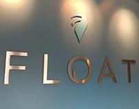 FLOAT custom aluminum letters