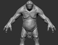 Troll / TLOTR / Sculpt
