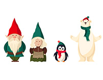 Wayfair Holiday Characters