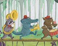 The bayou band