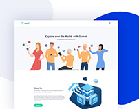 Ournet - Free One Page Internet Service Provider PSD