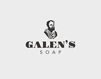 Galen's Soap Packaging Design