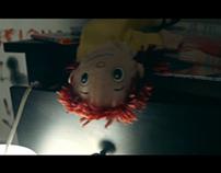 Set design of a horror story