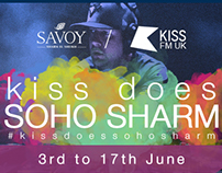 Kiss FM in Soho Sharm - Landing page