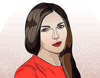 Фокина Виктория - Иллюстрации для микростоков в AI