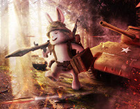 Warrior Bunny