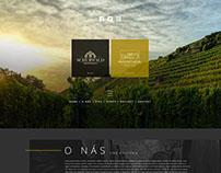 Wine company web designs