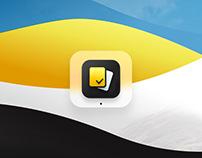 3d Look Icon for Dello App