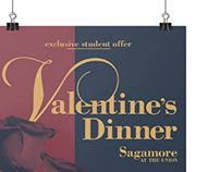 Sagamore Valentine's Day Dinner